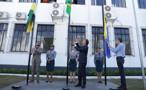 """""""Prédio do Relógio"""", marco da história rondoniense, abriga oficialmente a Prefeitura de Porto Velho"""