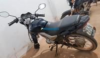 Dupla é presa com moto roubada após intensa perseguição na BR-364