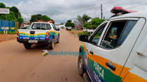 Após renderem funcionários, bandidos roubam R$ 40 mil de posto de combustível na Capital