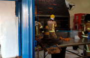 Vídeo: Princípio de incêndio em churrascaria mobiliza Corpo de Bombeiros na Capital