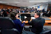 Ao vivo: Ministro Sérgio Moro fala no Senado sobre vazamento de conversas com procuradores da Lava Jato