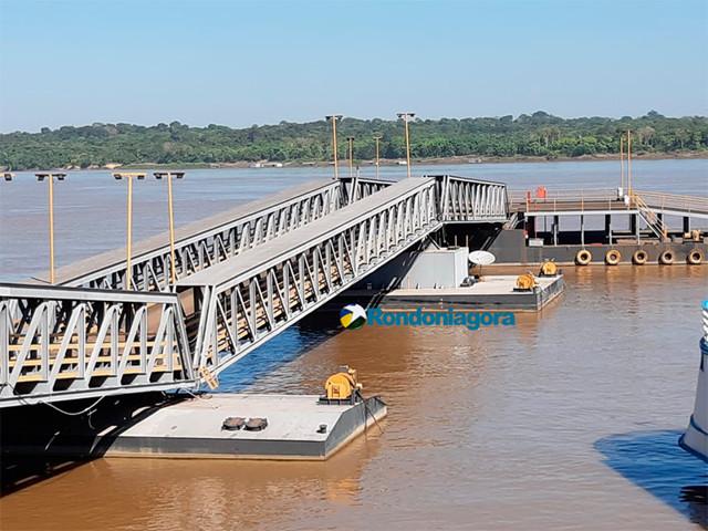 Terminal hidroviário é novamente interditado em Porto Velho