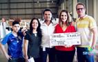 Vídeo: Servidores do TJ doam alimentos e mais de R$ 15 mil ao Hospital de Amor