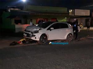 Motorista avança preferencial e causa grave acidente em Porto Velho