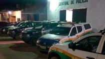 Criminosos roubam trabalhador e  são presos usando drogas