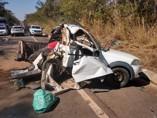 Casal de Rondônia em férias morre em acidente na BR-174