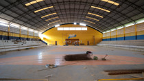 Com execução direta da prefeitura, obras no ginásio Eduardo Lima e Silva entram na fase final