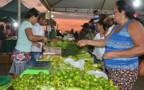 Agricultores familiares inauguram feira noturna em Porto Velho