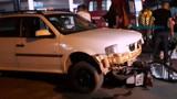 Mãe e filha ficam feridas após carro invadir preferencial em Porto Velho
