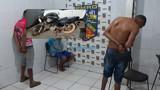 Trio é preso após roubar moto; veículo tinha rastreador e PM localizou bando