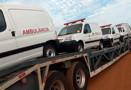 Prefeito entrega mais nove ambulâncias para atender Porto Velho e distritos