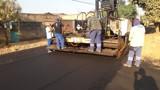 Prefeitura segue programa de asfaltamento em várias ruas