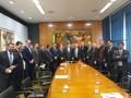 Com articulação de Coronel Chrisóstomo, Rodrigo Maia recebe empresários de Rondônia