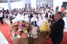 Cerimônia celebra a união de 32 detentos no Presídio 603 em Porto Velho