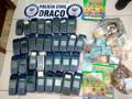 Polícia detém 11 e apreende R$ 108 mil durante operação contra o Jogo do Bicho