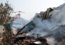 Confira imagens e vídeo do que sobrou após mais um grande incêndio na região central de Porto Velho