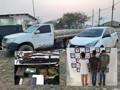Polícias Civil e Militar prendem integrantes de quadrilha que roubava caminhonetes na região de União Bandeirantes