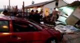 Vídeo mostra casa e carro destruídos, momentos após explosão no Orgulho do Madeira