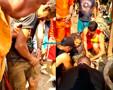 Vídeo: Bombeiros resgatam homem que ficou soterrado em poço na Capital