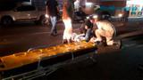 Colisão deixa motoboy ferido em Porto Velho