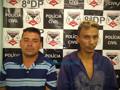 Presa dupla que assaltava comércios e vítimas na rua em Porto Velho