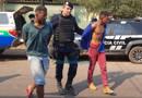 Vídeo: Após tiroteio, bandidos que tentaram assaltar escola são presos pela PM