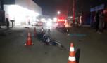 Colisão entre motos deixa vários feridos na Zona Sul da Capital