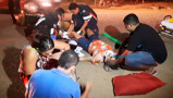 Bêbado causa grave acidente na Zona Leste, na noite deste domingo