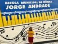 Vereadora Joelna Holder comemora inauguração da nova sede da escola de musica Jorge Andrade