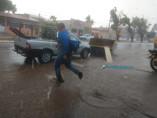 Após dois meses chove forte em boa parte de Porto Velho