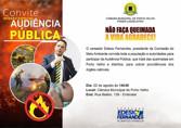 Vereador Edesio Fernandes promove audiência pública para cobrar providências sobre queimadas