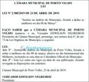 Entidades vão à Justiça contra feriado do Dia da Mulher em Porto Velho
