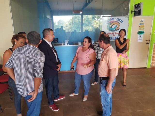 Deputado Alex Silva visita Associação Comercial da Zona Leste