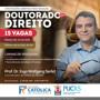 Doutorado interinstitucional em Direito da PUCRS e FCR recebe inscrições até 31 de outubro