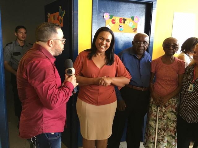 Vereadora Joelna Holder comemora inauguração de Escolas no Orgulho do Madeira
