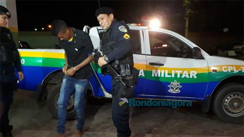 Criminoso é baleado nas nádegas por militar, após roubo na Capital