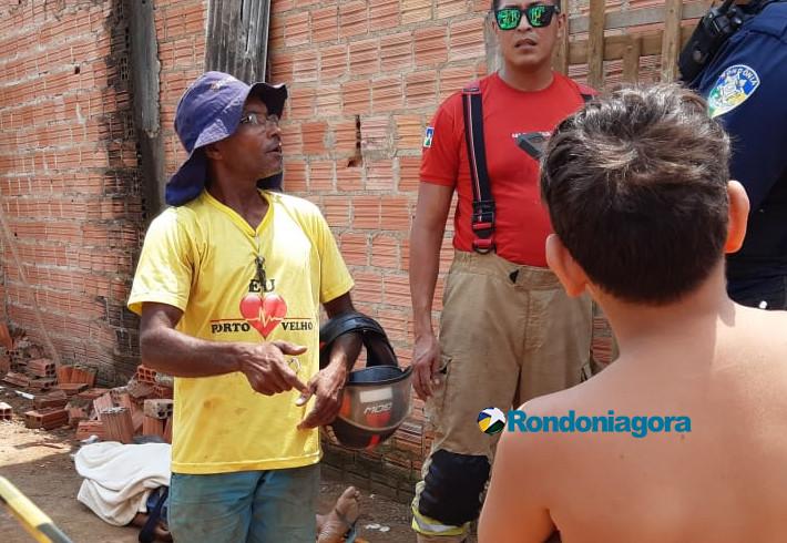 Trabalhador cai de telhado e morre em Porto Velho