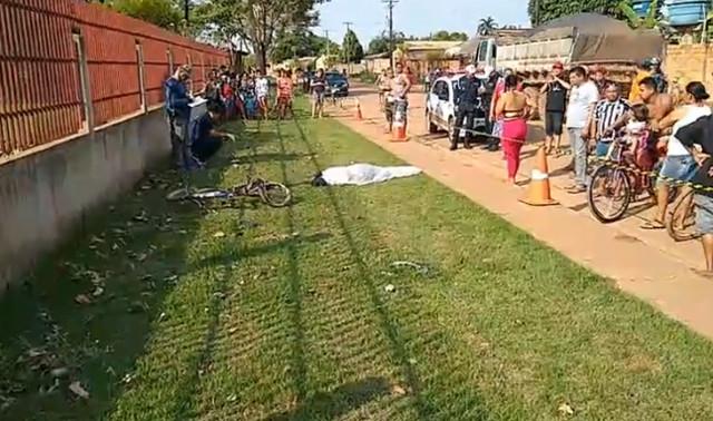 Ciclista morre atropelado por HB-20 na Zona Leste de Porto Velho; motorista fugiu
