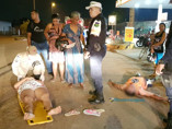 Ciclista fica em estado grave após ser atropelado por moto em cruzamento
