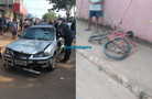 Vídeo: Idoso em bicicleta é atropelado e morre um dia após o aniversário