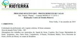 CES Rioterra abre editais de processos seletivos para diversas áreas