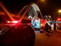 Jovem motociclista é socorrido em estado gravíssimo após acidente no Espaço Alternativo
