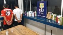 Equatorianos são presos com 18 quilos de cocaína em ônibus