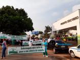 Enfermeiros, técnicos e auxiliares protestam por aumento da carga horária de trabalho