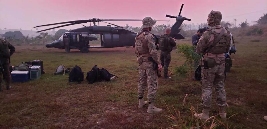 Terras indígenas: Mega operação da PF com o Exército cumpre mandados de prisão e de busca