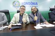 Governador assina Ordem de Serviço das obras de esgotamento sanitário de Ji-Paraná na sexta-feira, anuncia presidente da Assembleia