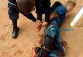 Vítimas reagem, amarram e esfaqueiam adolescente ladrão em Porto Velho