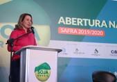 Deputada Jaqueline Cassol participa da Abertura Nacional do Plantio de Soja, em Vilhena