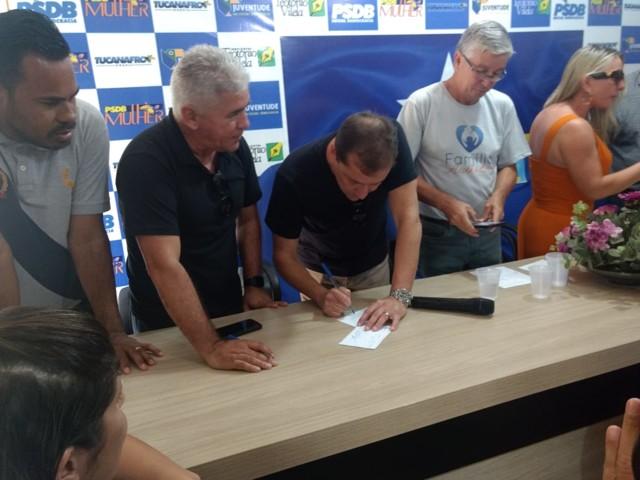 PSDB inicia campanha de filiações em Porto Velho