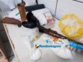 Polícia recebe denúncia e prende traficante com droga e arma na Zona Sul